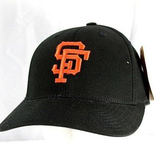 San Francisco Giants Black MLB  Baseball Cap  Adju